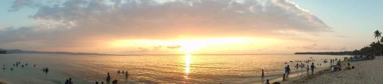 Pagudpod Beach Sunset